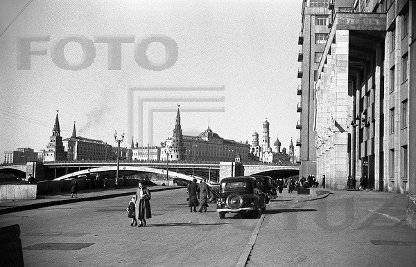 Дом на набережной. Театр Эстрады. Москва. 1940-е+.jpg