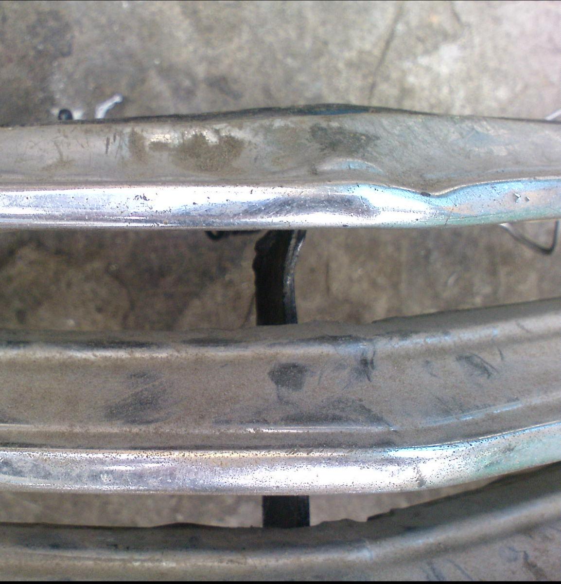Восстановление хромированных деталей автомобиля своими руками